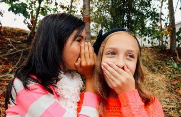 girls tell a secret image by Olichel Adamovich